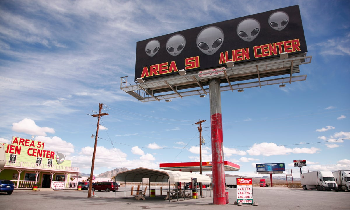 Area 51 billboard