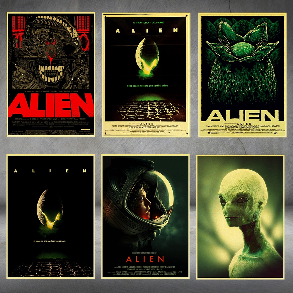 home painters toronto alien posters
